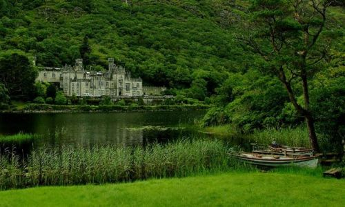 Zdjęcie IRLANDIA / brak / connemara / Kylemore Abbey