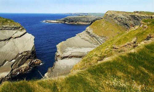 Zdjecie IRLANDIA / co. Clare / Kilkee / klify