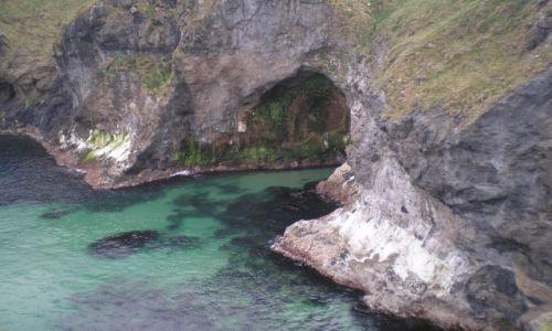Zdjecie IRLANDIA / północne wybrzeże / okolica Carrick Bridge / Irlandia Połnocna