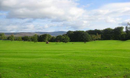 Zdjecie IRLANDIA / irlandia / kenmare / pole golfowe
