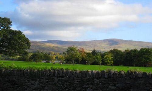 Zdjecie IRLANDIA / brak / Kenmare / pole golfowe /widok z ulicy