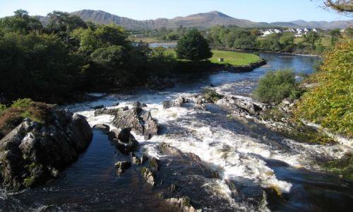 Zdjecie IRLANDIA / brak / w drodze do Caherdaniel / widok z mostu