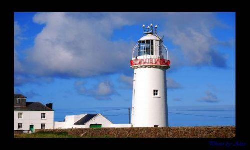 Zdjecie IRLANDIA / co.Clare / Loop Head - Kilkee / Latarnia morska