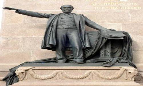 Zdjecie IRLANDIA / brak / Dublin / Zsadnicza postać pomnika