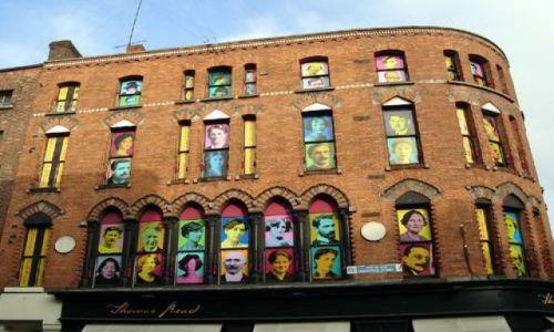 Zdjecie IRLANDIA / brak / Dublin / Dzielnica Temple Bar