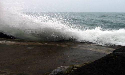 Zdjecie IRLANDIA / brak / Dun Laoghaire / Sztormowa pogoda
