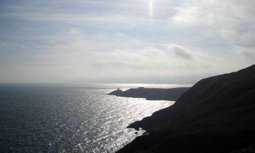 Zdjecie IRLANDIA / brak / Półwysep Howth / Klify na Howth