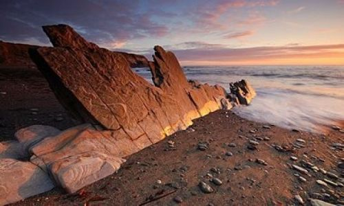 Zdjecie IRLANDIA / galway / ocean / zachód słońca