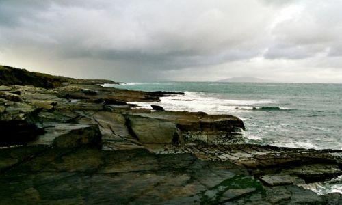 Zdjecie IRLANDIA / brak / Valencia / Grozne wybrzeze