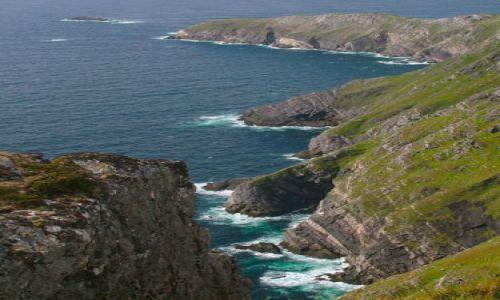 Zdjecie IRLANDIA / mayo / achill island / achill head