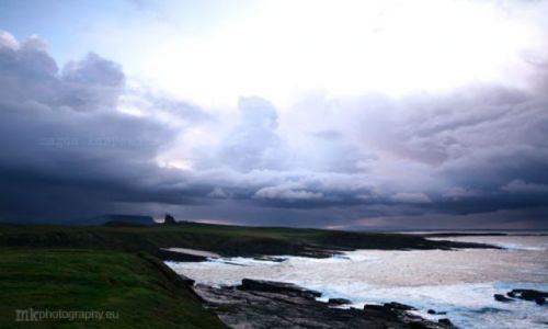 Zdjęcie IRLANDIA / Co.Sligo / Mullaghmore / zamek
