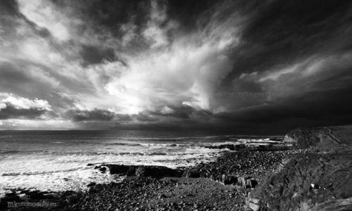 Zdjecie IRLANDIA / Co.Sligo / Mullaghmore / chmury