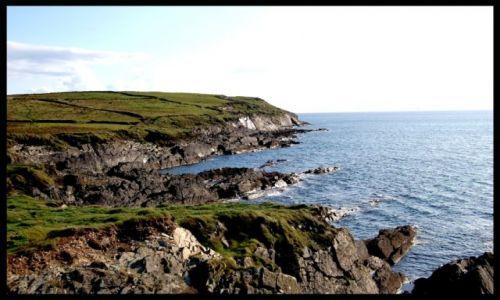 Zdjęcie IRLANDIA / Cork / Clonakilty / Klif