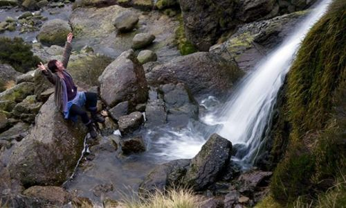 Zdjecie IRLANDIA / Waterford / Wodospady Mahon / Mahon Falls