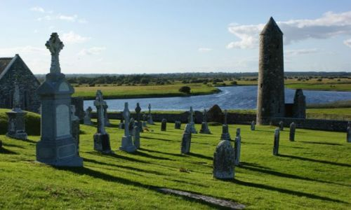 Zdjęcie IRLANDIA / Irlandia / Clonmacnoise / Piękna, po prostu najpiękniejsza...