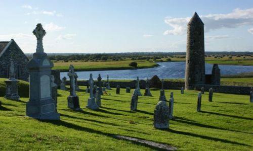 Zdjecie IRLANDIA / Irlandia / Clonmacnoise / Pi�kna, po pros