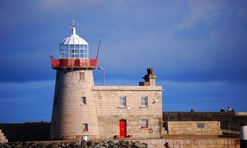 Zdjęcie IRLANDIA / Dublin / Półwysep Howth / Latatrnia morska