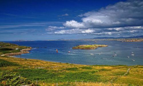 Zdjęcie IRLANDIA / Wyspa Aran / brak / Widok z wyspy Aran...