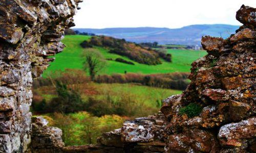 Zdjecie IRLANDIA / Portlaoise / Rock of Dunamase  / Widok na okolicę :)
