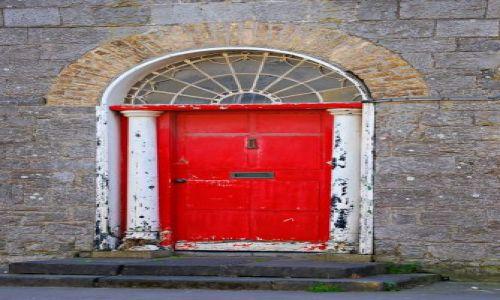 Zdjecie IRLANDIA / Galway / Portumna  / Drzwi