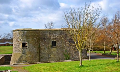 Zdjecie IRLANDIA / Offaly  / Banagher  / Cromwells castle