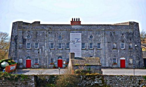 Zdjecie IRLANDIA / Offaly  / Shannonbridge  / Stary fort