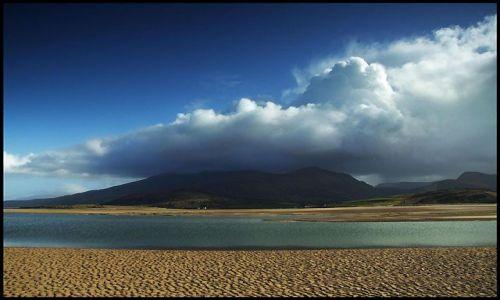 Zdjecie IRLANDIA / Dingle / Brandon / zatoka podczas odpływu