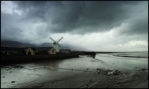 IRLANDIA / Dingle / Blennerville / wiatrak Blennerville