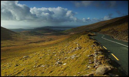 Zdjęcie IRLANDIA / Kerry, półwysep Dingle / Conor Pass / przełęcz Conor