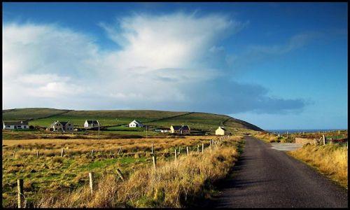 Zdjecie IRLANDIA / Kerry, półwysep Dingle / Dingle / wsi spokojna..