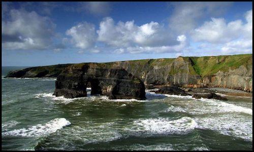 Zdjecie IRLANDIA / Kerry / Ballybunion / łuk
