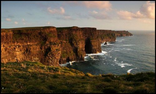 Zdjecie IRLANDIA / co.clare / cliffs of moher / klify