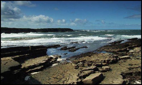 Zdjęcie IRLANDIA / co.clare / zachodnie wybrzeze / ocean