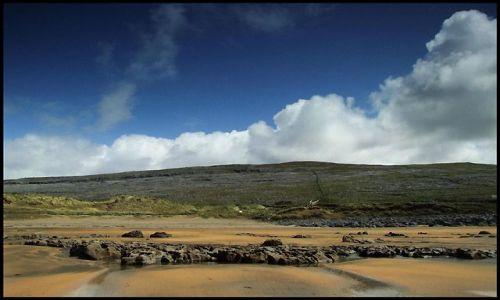Zdjęcie IRLANDIA / co.clare / zachodnie wybrzeze, Fanore / plaza Fanore