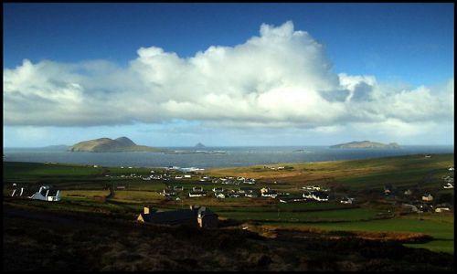 Zdjęcie IRLANDIA / Dingle / zachodnie wybrzeże / irlandzka wioska