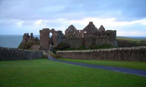 Zdjecie IRLANDIA / Hrabstwo Antrim / Dunluce / Zamek Dunluce