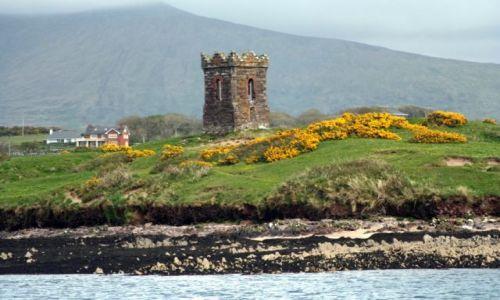 Zdjęcie IRLANDIA / Hrabstwo Kerry / Zatoka Dingle / Widok z kutra - zatoka Dingle.