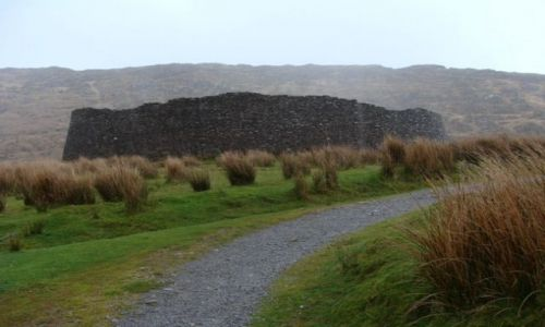 IRLANDIA / hrabstwo Kerry / Irlandia / Staigue Fort