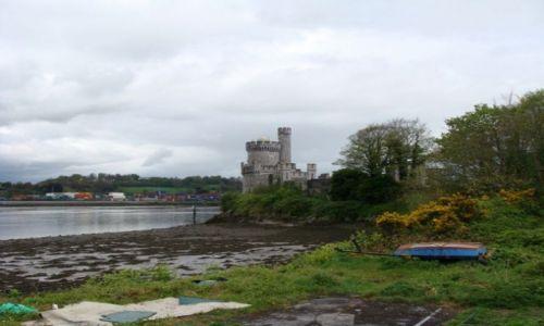 Zdjęcie IRLANDIA / - / Cork / Zamek Blackrock nad rzeką Lee