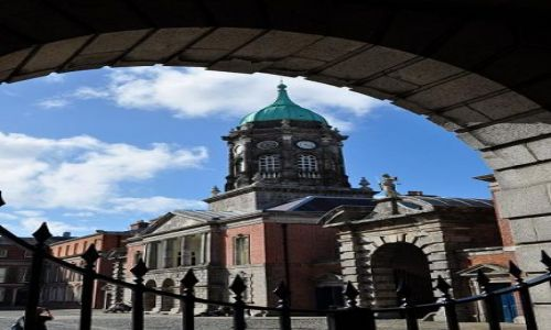 Zdjęcie IRLANDIA / - / Dublin / Zamek w Dublinie