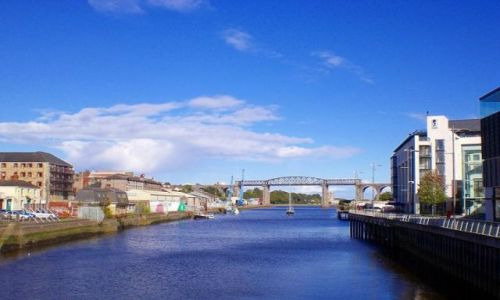 Zdjecie IRLANDIA / - / Drogheda / Widok z mostu