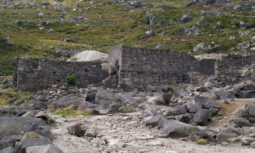 Zdjęcie IRLANDIA / - / Góry Wicklow / Ruiny