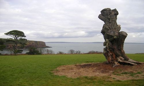Zdjecie IRLANDIA / Waterford / Tramore / Wybrzeże