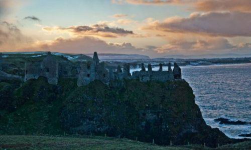 Zdjecie IRLANDIA / Europa / Irlandia Północna / Dunluce Castle