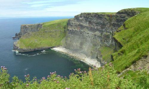 Zdjecie IRLANDIA / Hrabstwo Clare / okolice Doolin / Cliffs of Moher