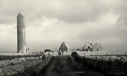 Zdjęcie IRLANDIA / - / Connemara / B&W