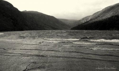 Zdjecie IRLANDIA / - / Glendalough / B&W