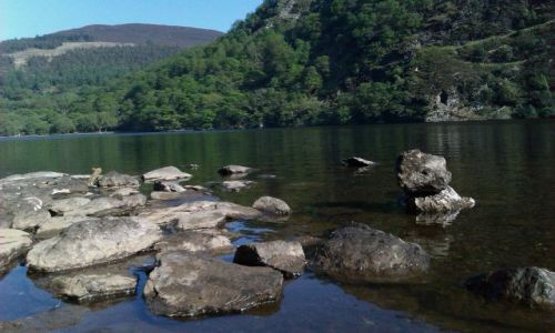 IRLANDIA / wicklow / Glendalough / zielona wyspa