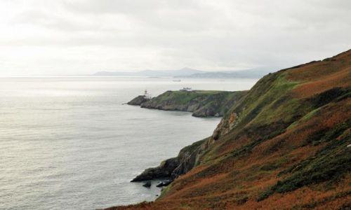 Zdjęcie IRLANDIA / - / Płw.Howth / Widok z klifu