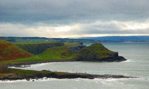 Zdjęcie IRLANDIA / - / Irlandia pn. / Widok z klifów
